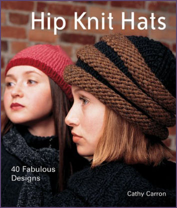 Hip Knit Hats Book Cover