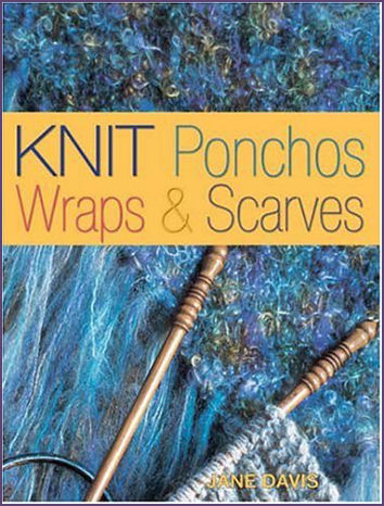 Knit Ponchos Wraps and Scarves