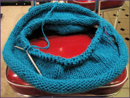 blue hat in progress