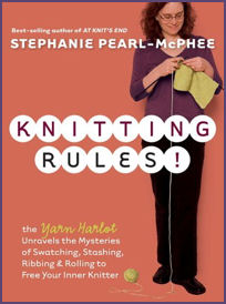 Knitting Rules Book Cover