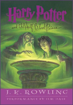 Harry Potter and the Half Blood Prince Audiobook CD cover
