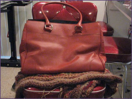 Namaste Executive Bag, rust color