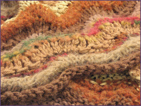 Ripple Blanket close up
