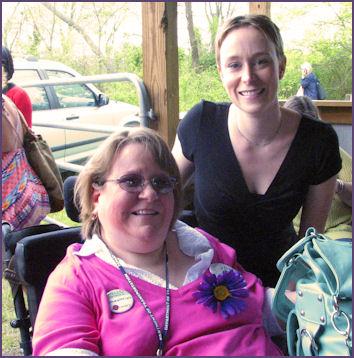 Trish and Jessica