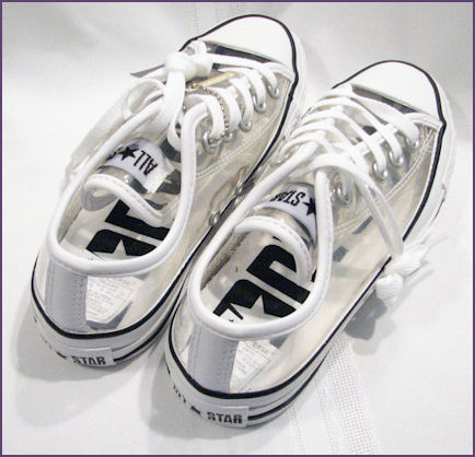 Chuck Taylor All Star transparent sneakers