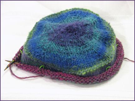 new hat in progress