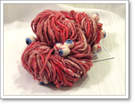 vitreous humor eyeball yarn