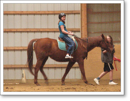 Riding Lessons for the Birthday Girl