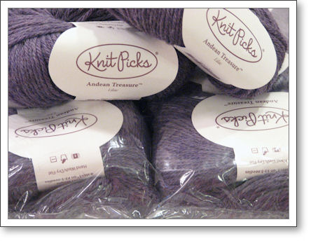 Purple Yarny Goodness