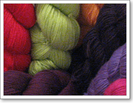 Various colors of Cascade 220