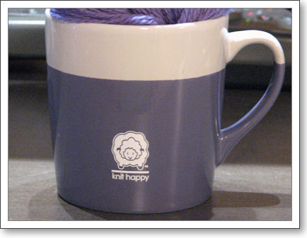 Knit Happy mug