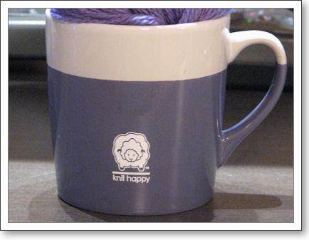 Knit Happy mug
