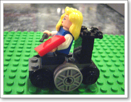 LegoTrish side view