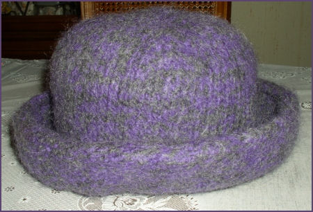 Hat after felting