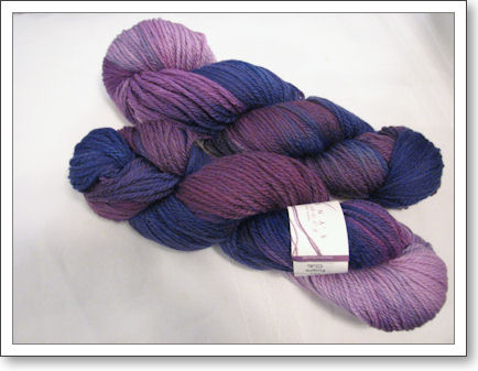 Lorna's Laces Shepherd's Worsted, Purple Club