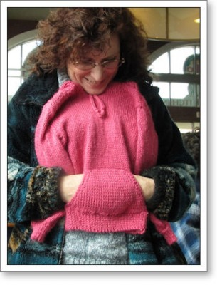Tammy shows another gorgeous granddaughter sweater