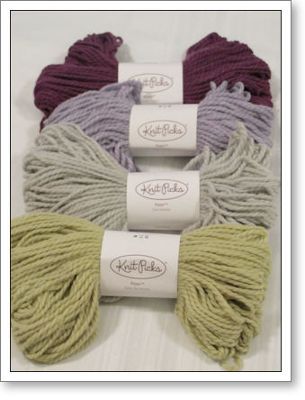 "New ""Biggo"" yarn from Knit Picks"
