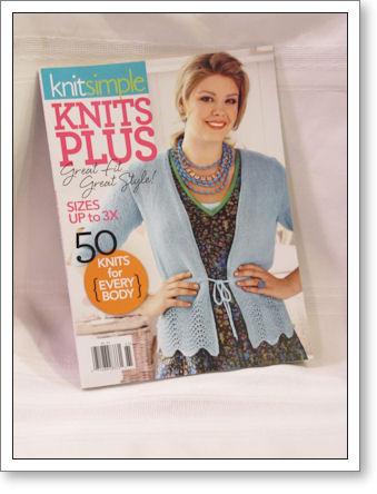Knit Simple Knits Plus magazine