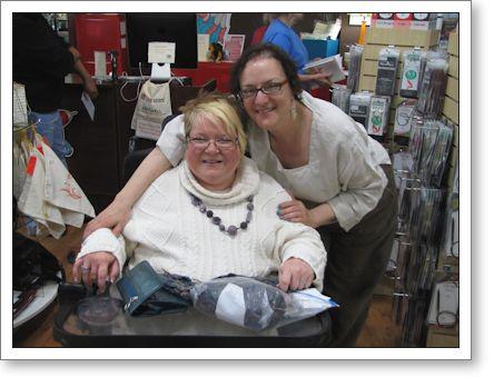Trish meets Brenda Dayne