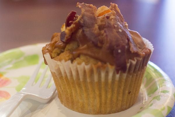 Caramel Bacon Cupcake