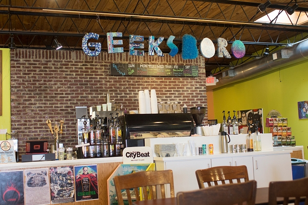 Geeksboro Coffeehouse Cinema