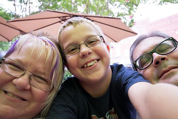 Trish, Steven and John